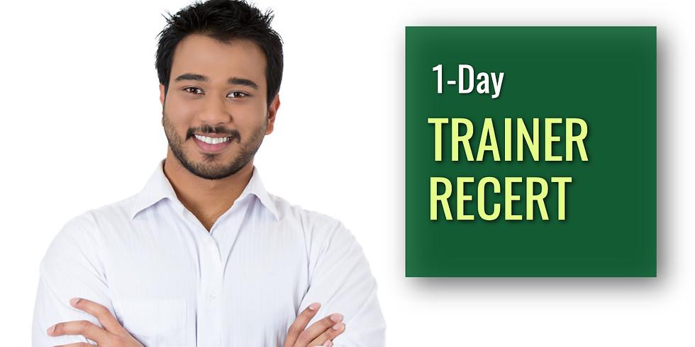 November 20, 2020 Trainer Recert in Easton, PA