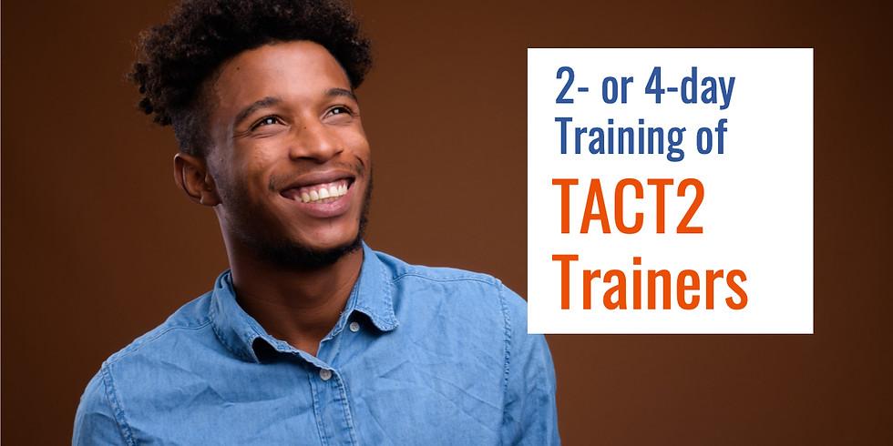 June 1-4, 2020 TACT2 ToT in Atlanta, GA