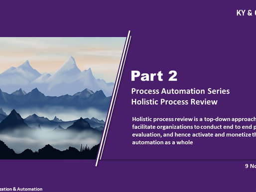 Process Automation Series Part 2 - Holistic Process Review