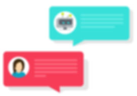 chatbot-and-chat-bubble-icons-vector-153