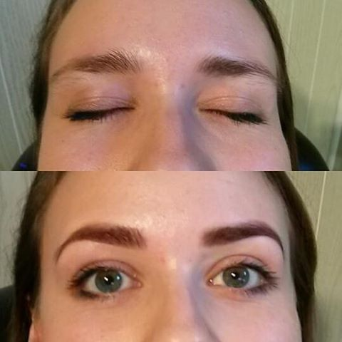 Brow Design and Tint