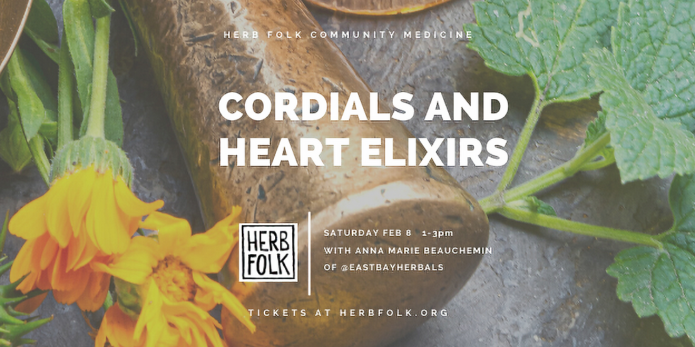Cordials and Heart Elixirs