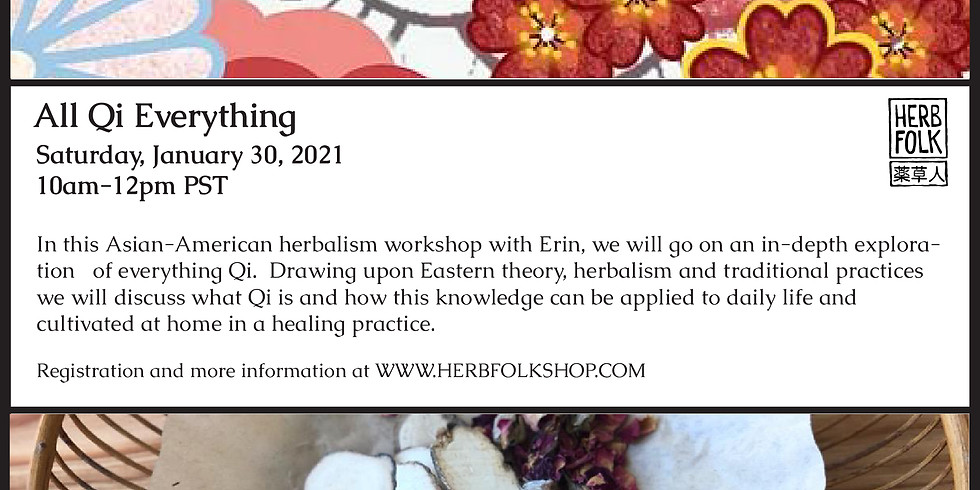 All Qi Everything- Asian American Herbalism