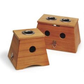 Bamboo Moxa Box