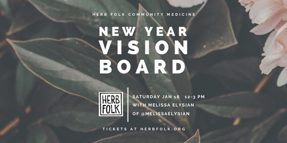 New Year Vision Board Workshop 2