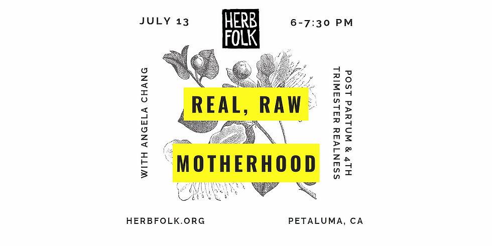 Real, Raw Motherhood - The Fourth Timester