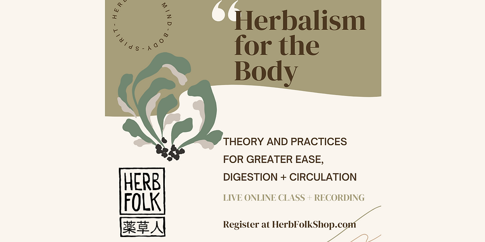Herbalism for the Body
