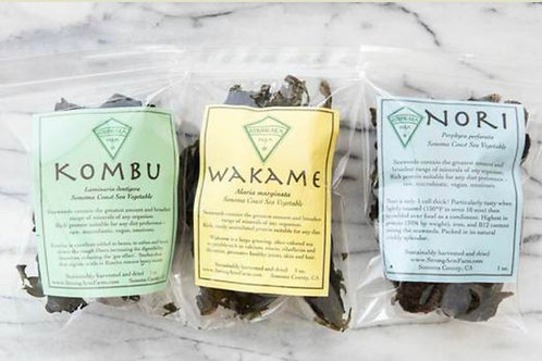 Wakame- Sustainable Seaweed