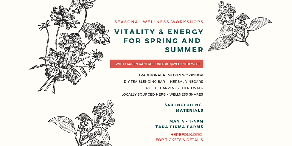 Vitality & Energy for Spring and Summer (1)