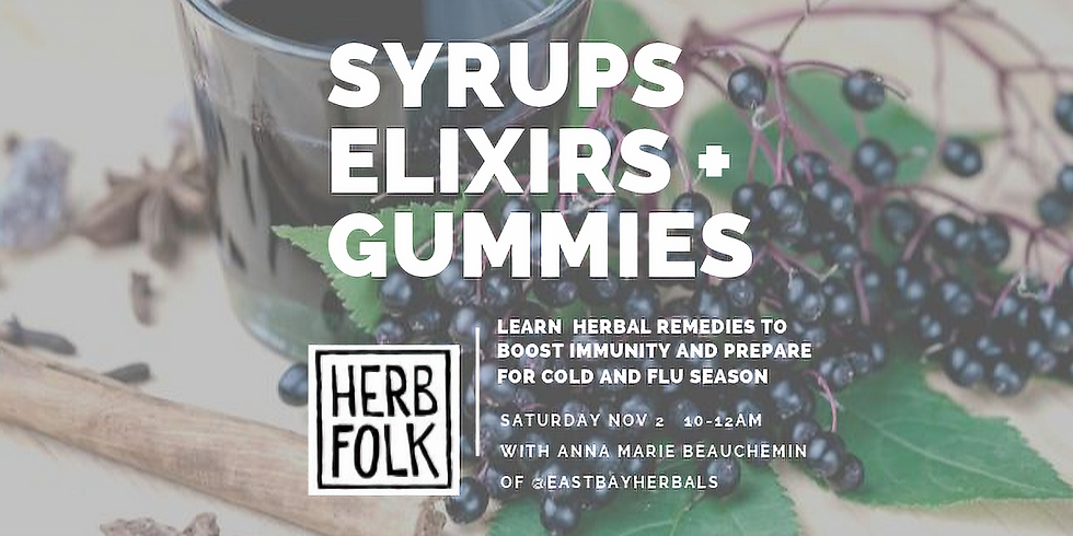Syrups, Elixirs and Gummies