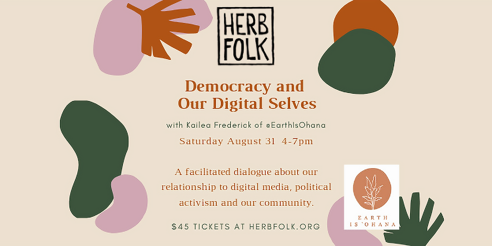 Democracy and Our Digital Selves