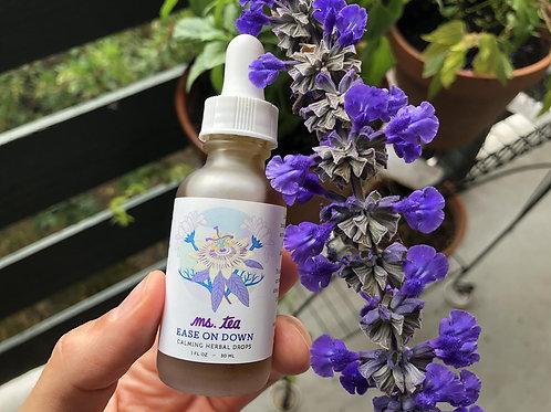 Ease On Down Calming Herbal Drops - Ms. Tea