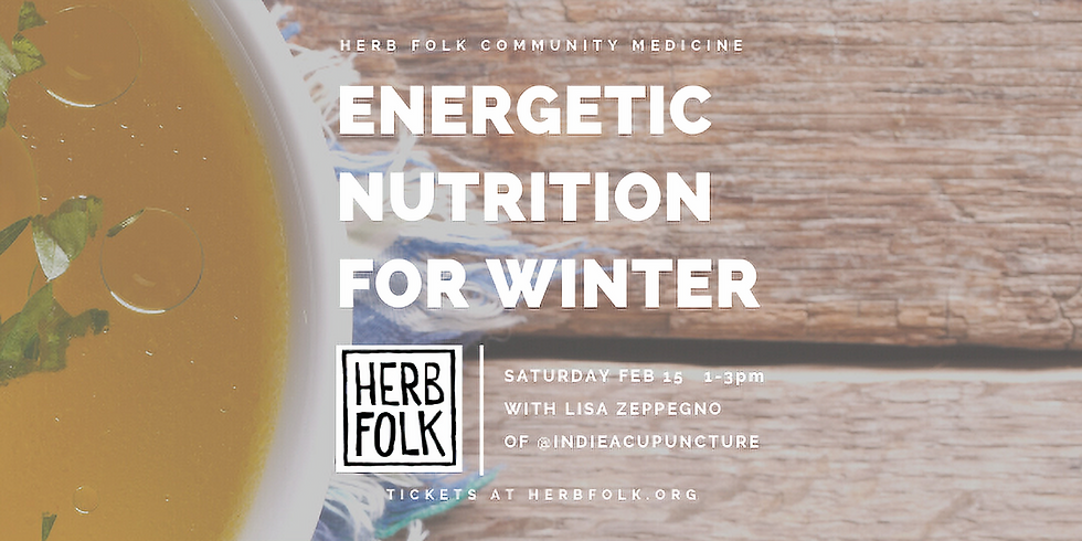 Energetic Nutrition for Winter