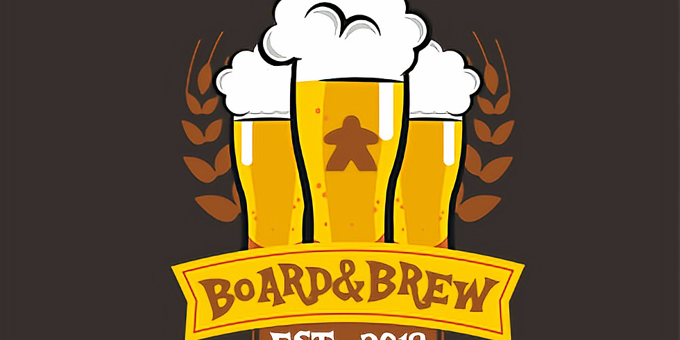 Beer & Board Games Theme Night 21+