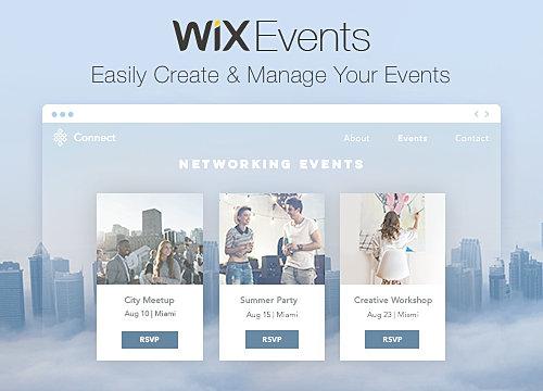 wix events r u00e9sum u00e9