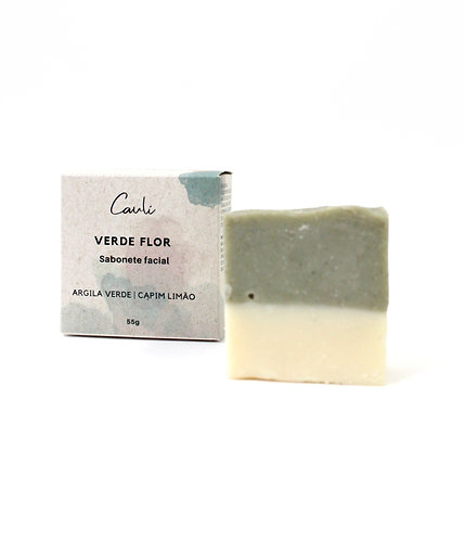 Sabonete facial Verde Flor - 55g
