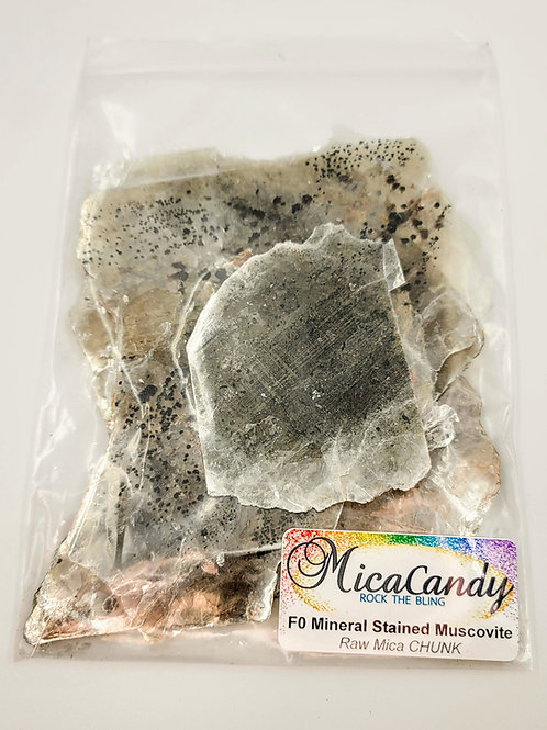 F0 Mineral Stained Muscovite