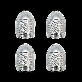 Cap Valve Silver Aluminum VC3
