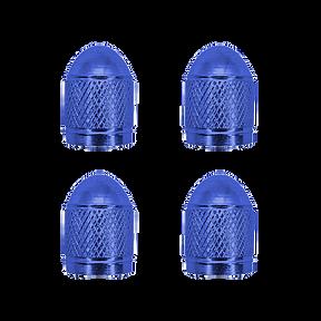 Cap Valve Blue Aluminum VC3