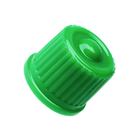 Cap Valve Plastic Green Sealing