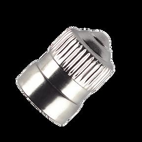 Cap Dome Type VC3 Brass Nickel Plt
