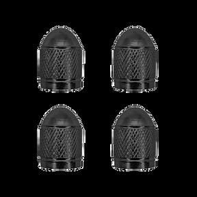 Cap Valve Black Aluminum VC3