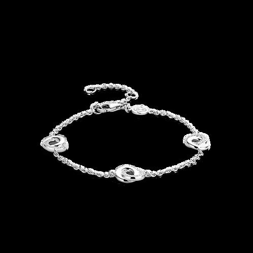 2925ZI Ti Sento zilveren armband met zirconia