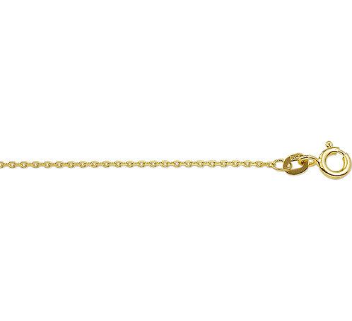 214796 Geelgouden anker collier 1.1mm 41-43-45cm