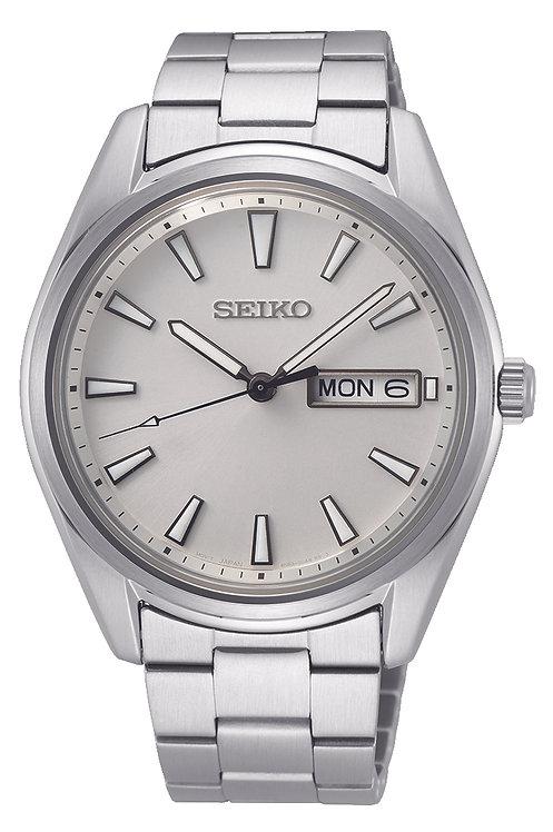 SUR339P1 Seiko heren new link staal bracelet wit 100m