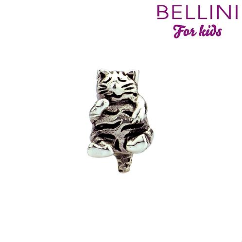 562408 Bellini zilveren bedel poes