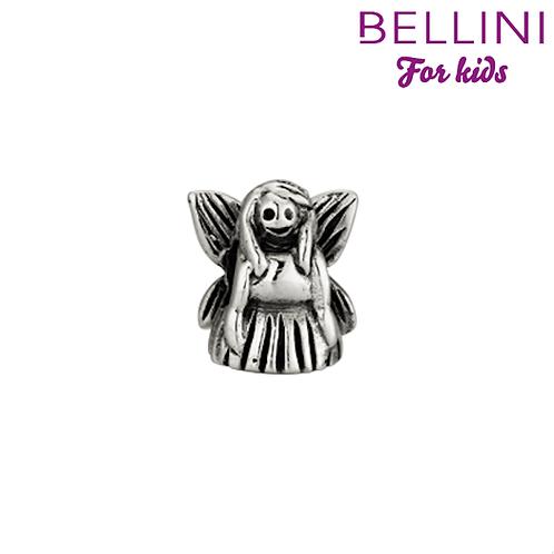 562438 Bellini zilveren bedel engel