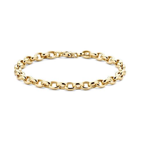 2162YGO Blush armband geelgoud jasseron