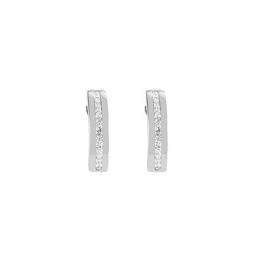 0126-21-1800 Coeur de Lion oorstekers kristal