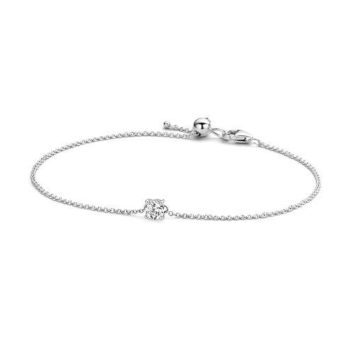 2166WZI Blush armband witgoud zirconia