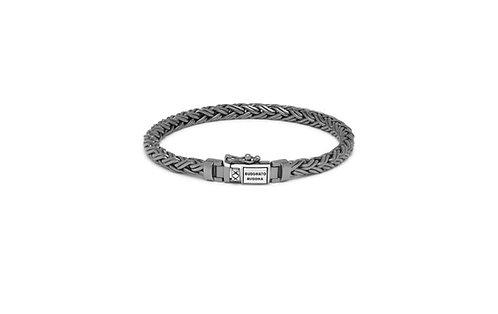 J170BRSS Buddha to Buddha Katja XS Black Rhodium Shine Bracelet