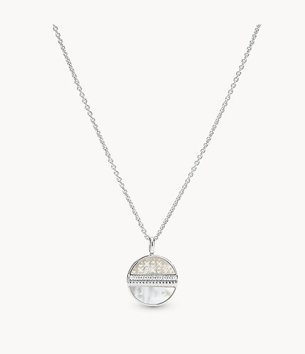 JFS00517040 Fossil Silver collier
