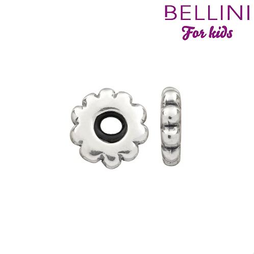 569001 Bellini zilveren stopper bloem