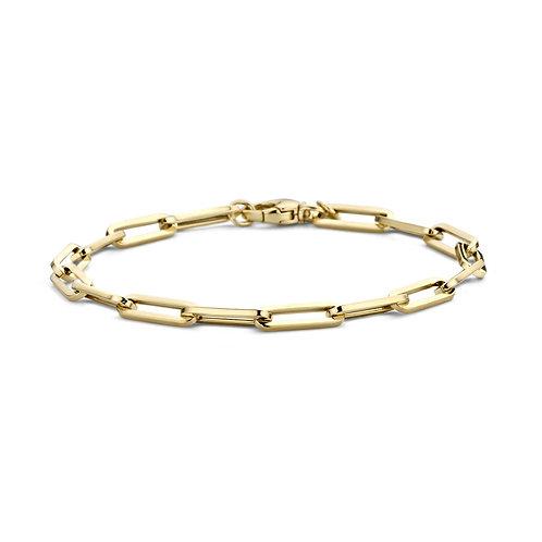 2171YGO Blush armband geelgoud closed forever