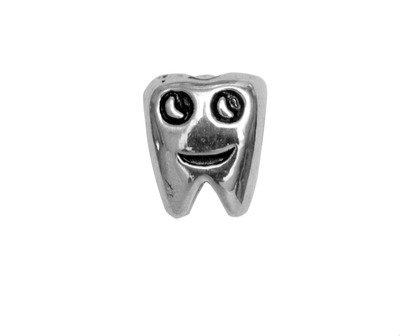 562451 Bellini zilveren bedel tandje