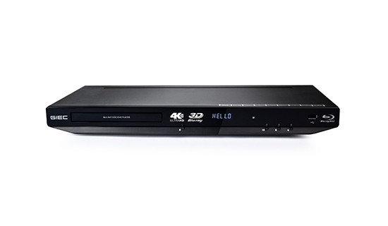 GIEC Blu-Ray 3D BDP-G4350 4K Upscale DVD\ VCD\ CD+ WIFI