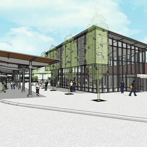 City Bus Transfer Station - Springfield, Missouri