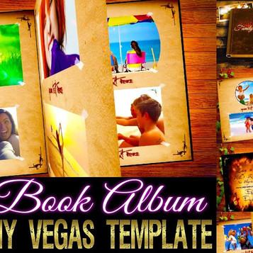 3D Book Album