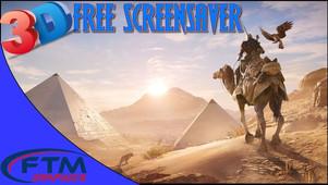 Assassin Creed Origins, 3D Screensaver