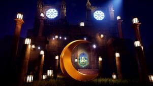 Ramadan Greeting  Video 3D 2 Versions