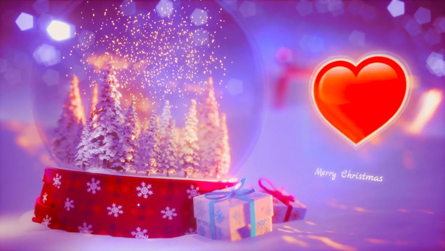 merry christmas and happy new year 2021 - Love greetings Video