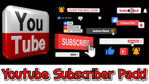 YouTube subscriber pack