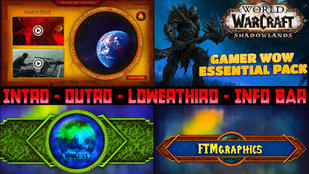 WOW Shadowlands Gamer Channel Essential Pack