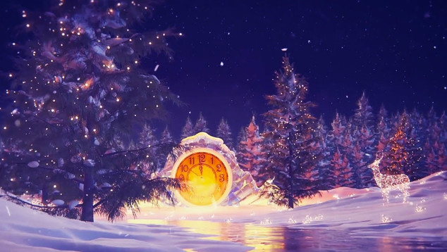 New Year Midnight Countdown