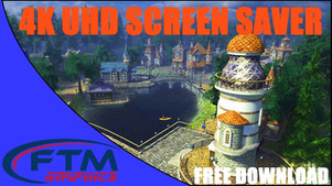 4K 3D Animation Screensaver