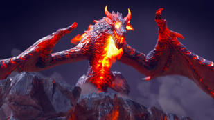 Dragon Logo Reveal